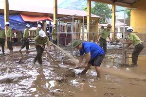 Mưa lũ gây nhiều thiệt hại ở Lào Cai và Hà Giang