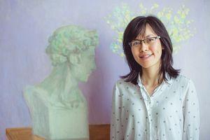 Nguyễn Ngọc Đan: Giới mỹ thuật nước ngoài đánh giá cao họa sĩ trẻ Việt Nam