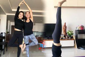 Mai Phương tập yoga trở lại mặc dù đang truyền thuốc chống hủy xương