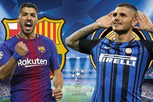Kèo Barca vs Inter: 'Đọ pháo' ở Nou Camp