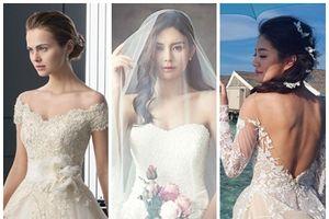 5 bí kíp chọn váy cưới đẹp lộng lẫy như thiên thần dành riêng cho những cô nàng ngực lép