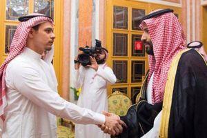 Con trai nhà báo bị sát hại gặp gỡ Thái tử Ả Rập Saudi