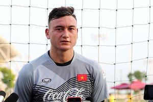 Thủ môn Đặng Văn Lâm: 'Tôi khao khát được thi đấu tại AFF Suzuki Cup 2018'