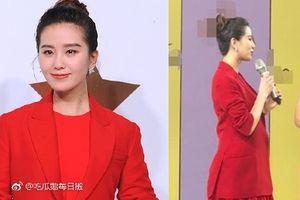 Tin vui làng Hoa ngữ: 'Nhược Hy' Lưu Thi Thi lộ vòng 2 lớn, mang song thai sau 3 năm kết hôn