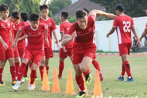 U19 Việt Nam tích cực tập luyện, quyết tâm 'chiến đấu' với Hàn Quốc