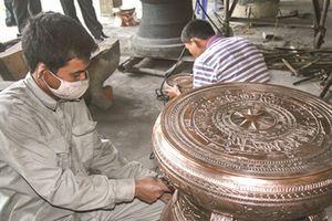 Nghề đúc đồng làng Chè Đông được công nhận là Di sản văn hóa phi vật thể quốc gia