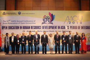 Chia sẻ kinh nghiệm về giáo dục mở trong phát triển nhân lực ở châu Á