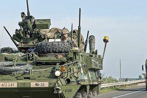 Xe quân sự Mỹ gặp sự cố trên đường tới Na Uy chuẩn bị tập trận