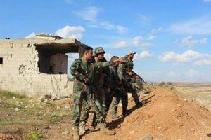 Cố nhắm vào căn cứ quân đội Syria ở vùng đệm, khủng bố bị đè bẹp