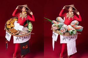 Dân mạng Việt lại chứng tỏ trình photoshop vô biên: Mang cả tinh hoa ẩm thực đường phố khoác lên hoa hậu H'Hen Niê!