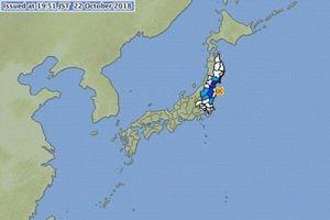 Động đất mạnh rung chuyển Nhật Bản và Đài Loan