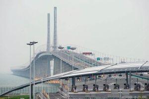 'Cầu vượt biển nối Hong Kong -Chu Hải-Macau giống như dây rốn gắn vào đất mẹ'