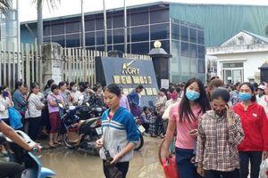Thanh Hóa: Bị ép tăng ca, 3.000 công nhân may đình công