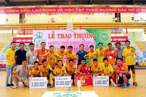 Khí Cà Mau bảo vệ thành công ngôi vô địch ở giải Futsal lớn nhất ĐBSCL