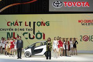 Toyota khoe 'chất' tại Triển lãm Ô tô Việt Nam 2018