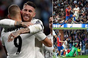 Toàn cảnh Real Madrid 2-1 Viktoria Plzen: 'Giải hạn' trước thềm El Clasico