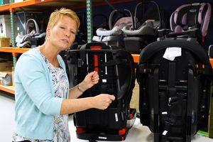 Consumer Reports cảnh báo về ghế an toàn trẻ em