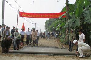 XDNTM ở tỉnh Điện Biên: Nhiều kết quả khả quan