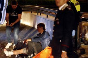 Italia: Thang cuốn nhà ga chạy như tàu cao tốc, hơn 20 người bị thương