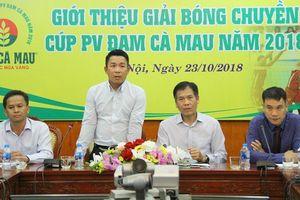Đắk Nông đăng cai Giải bóng chuyền Cúp PV - Đạm Cà Mau năm 2018