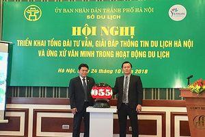Ra mắt tổng đài tư vấn, trợ giúp khách du lịch Hà Nội