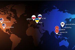 Đội thi nào sẽ giành ngôi quán quân An toàn không gian mạng toàn cầu WhiteHat Grand Prix 2018?