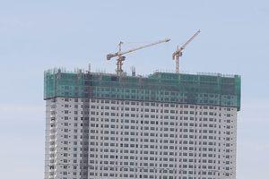 Chưa cắt xong 3 tầng vượt tại cao ốc Mường Thanh Khánh Hòa