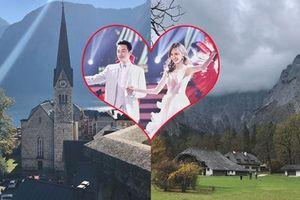 Lễ cưới của Đường Yên - La Tấn tổ chức tại thủ đô nước Áo