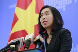 Việt Nam lên tiếng về chuyến thăm của Bộ trưởng Quốc phòng Mỹ
