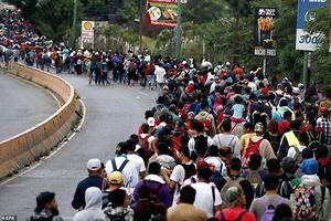 LHQ lên tiếng về người di cư Trung Mỹ