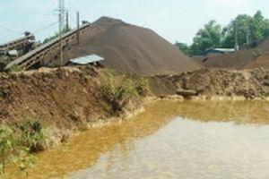 Thái Nguyên yêu cầu bảo vệ môi trường tại xưởng tuyển quặng sắt