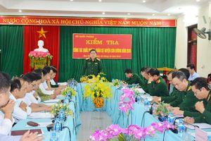 Kiểm tra công tác quốc phòng tại huyện Sơn Dương, tỉnh Tuyên Quang