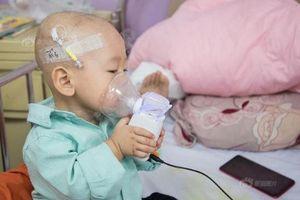 Em bé Trung Quốc một tuổi tự học cách chữa ung thư