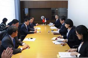 Đoàn công tác tỉnh Bà Rịa - Vũng Tàu làm việc JICA