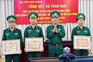 Học viện Biên phòng tổng kết và trao giải cuộc thi tìm hiểu về 'Biên giới và BĐBP'
