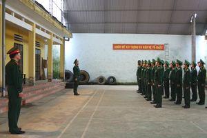 Bộ Tổng tham mưu kiểm tra công tác quân sự, quốc phòng tại BĐBP Hà Giang