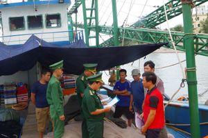 Tích cực tuyên truyền ngư dân không vi phạm pháp luật trên biển