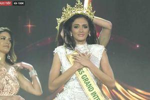 Người đẹp Paraguay ngất khi được xướng tên Miss Grand 2018
