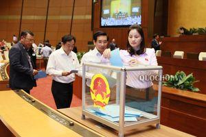 Nhiều Bộ trưởng nhận được số phiếu tín nhiệm cao