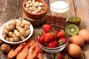 Thực phẩm nên kiêng đối với người dễ bị dị ứng