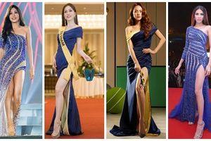 Chinh chiến Miss Grand 2018, Bùi Phương Nga liên tiếp 'mặc váy cũ' của dàn mỹ nhân đàn chị