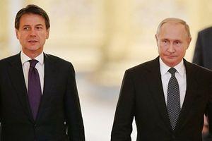 Nga-Italy cam kết tăng cường hợp tác bất chấp lệnh trừng phạt của EU