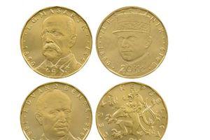 Phát hành đồng xu kỷ niệm 100 năm ngày thành lập Tiệp Khắc