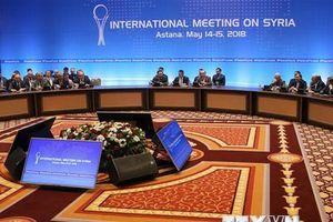 Thời điểm tổ chức vòng tiếp theo của cuộc đàm phán về Syria tại Astana