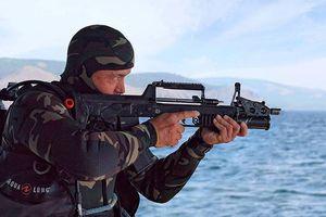 Tiểu liên lưỡng cư ADS, vũ khí không thể thiếu với đặc công nước
