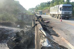 Phân luồng cao tốc Nội Bài-Lào Cai sửa đường tránh cầu Ngòi Thủ