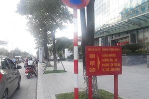 Tình trạng lấn chiếm lòng đường, vỉa hè tại đường Đào Tấn