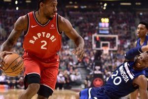 Kawhi Leonard thi đấu như chưa từng dính chấn thương, Toronto Raptors tiếp mạch bất bại