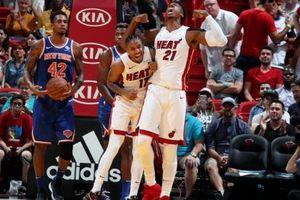 Chùm ảnh: Miami Heat bùng nổ tại sân nhà, chiến thắng cách biệt New York Knicks