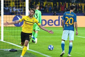 Dortmund 4-0 Atletico Madrid: Khoan thủng 'khối bê tông'